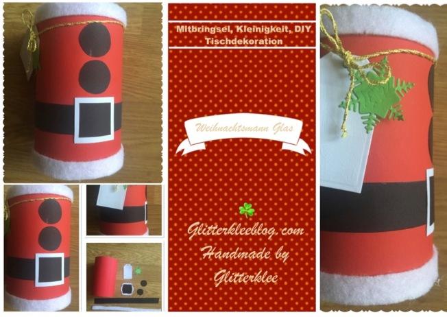 Weihnachtsmann Glas DIY-1