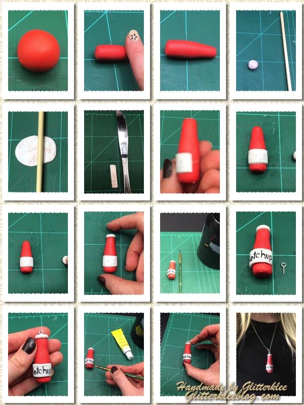 Anleitung Ketchupflasche