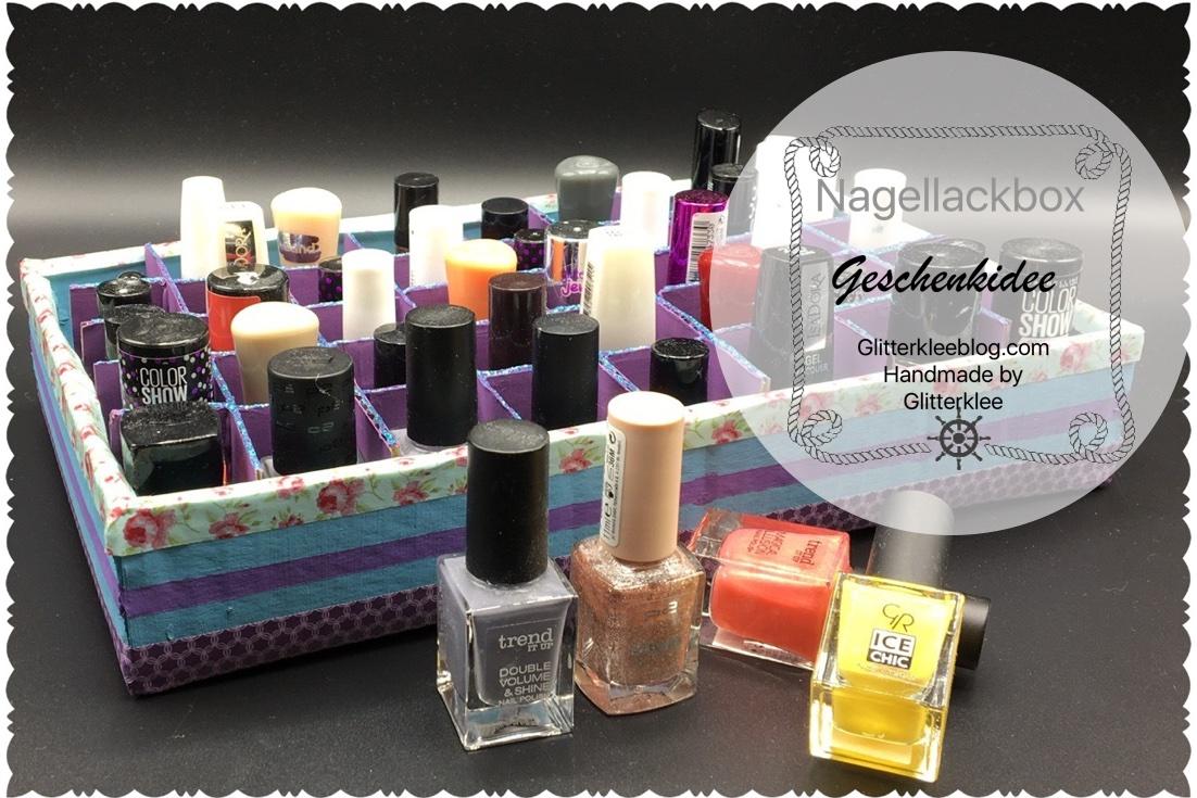 Nail polish Box DIY | Geschenkideen