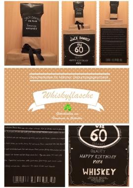 Whiskyflasche DIY