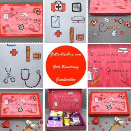 Geschenkidee Genesungsbox