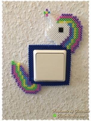 Unicorn Lichtschalter schmuck-1