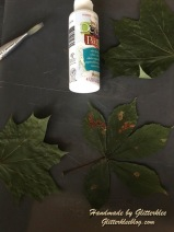 Blätter einstreichen
