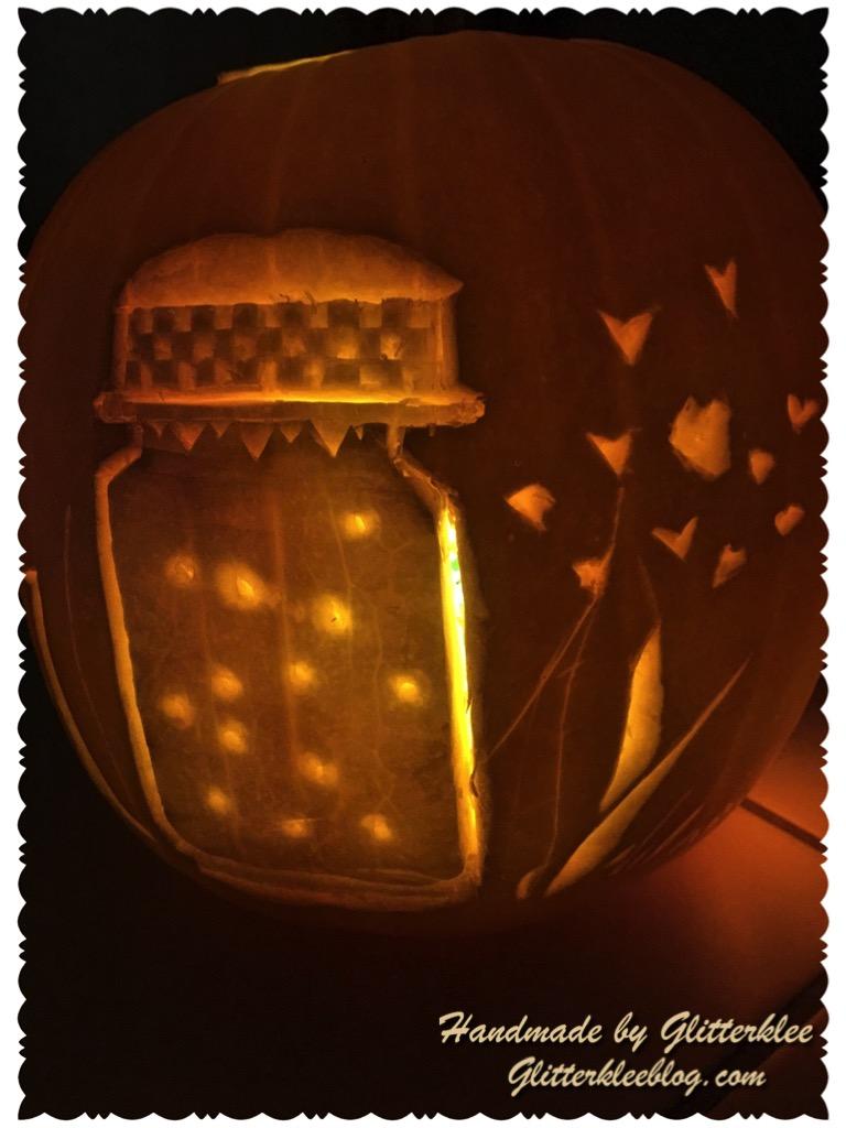 Glas mit glühwürmchen-1