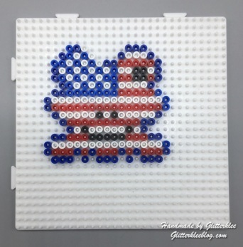 Flagge Usa Frosch-1