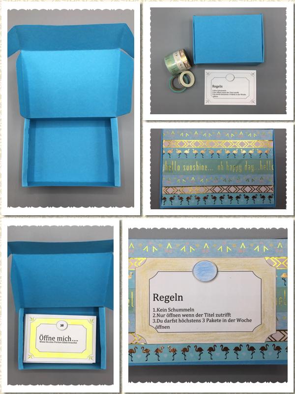 Box für Karten
