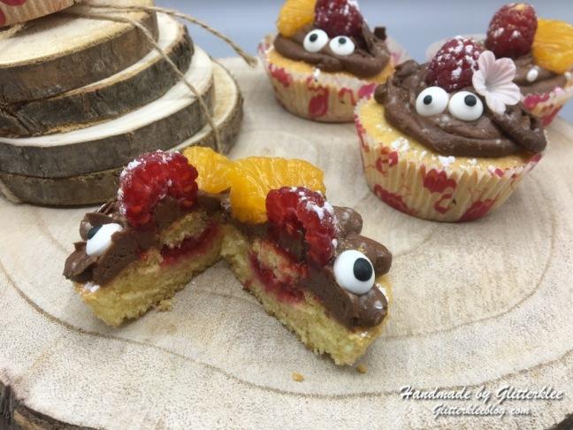 Cupcake aufgeschnitten