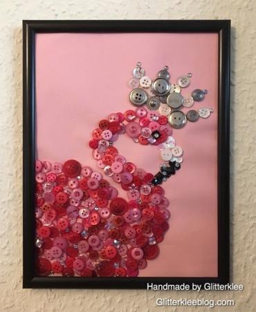 Flamingo an der Wand-1