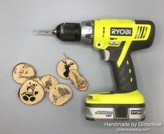 Holzscheiben Bohren-1