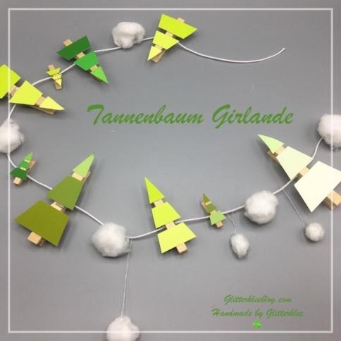 instagram Tannenbaum girlande