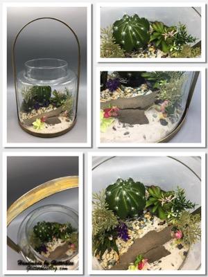 Grosse Vase Terrarium-1
