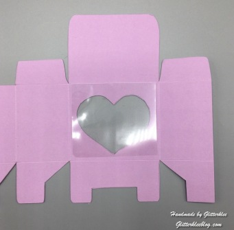 Herz beklebt mit Folie-1