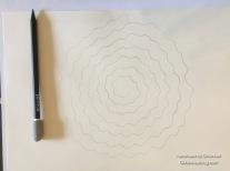 1.Spirale aufmalen